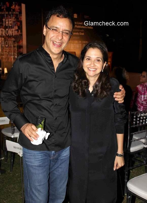 Anupama Chopra along with her husband Vidhu Vinod Chopra