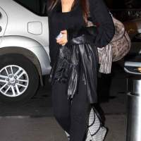 Bipasha Basu at Mumbai International Airport