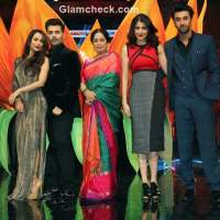 Bombay Velvet at the sets of Indias Got Talent 6
