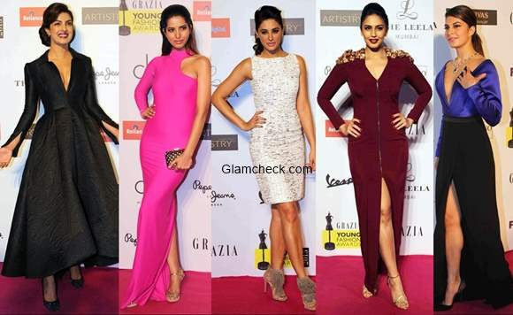 Celeb looks from the Grazia Young Fashion Awards 2015