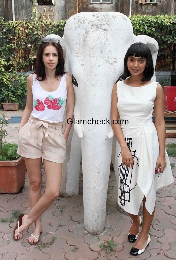 Celeb summer looks - Kalki Koechlin and Sayani Gupta