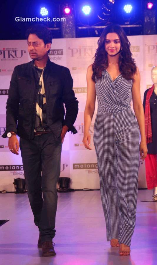 Deepika Padukone and Irrfan Khan launch the Piku Melange Collection