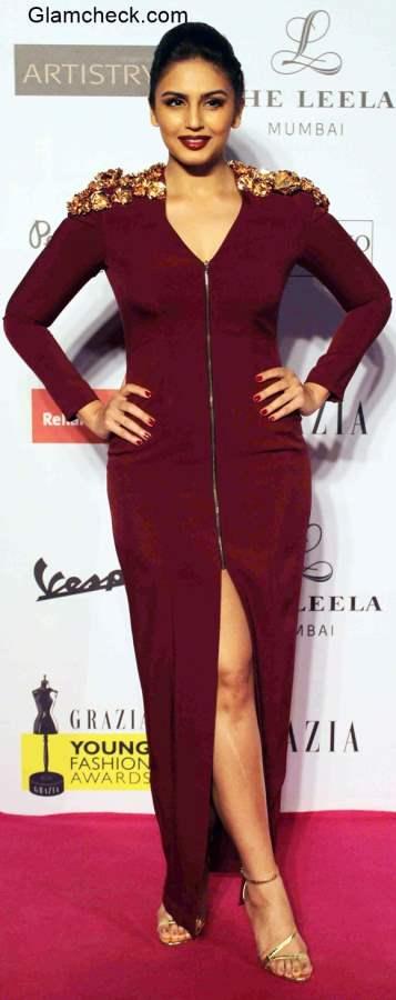 Huma Qureshi at Grazia Young Fashion Awards 2015