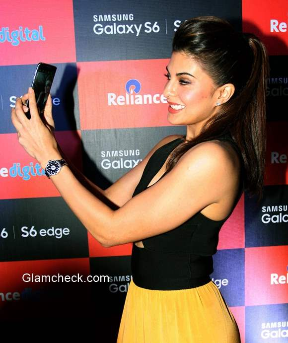 Jacqueline Fernandez Launches Samsung Mobile S6 and S6 Edge
