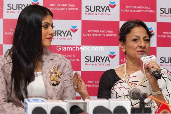 Kajol and Tanuja inaugurate Surya Mother and Child Super Specialty Hospital