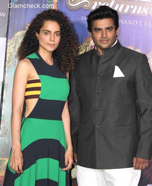 Kanagana Ranaut and R Madhavan launch the trailer launch of Tanu Weds Manu Returns