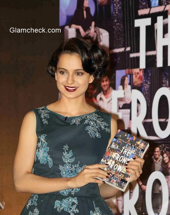 Kangana Ranaut at the launch of Anupama Chopra Book