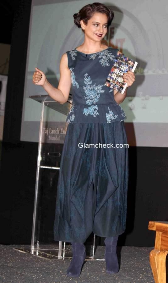 Kangana Ranaut pics at the launch of Anupama Chopra book The Front Row Conversations on Cinema