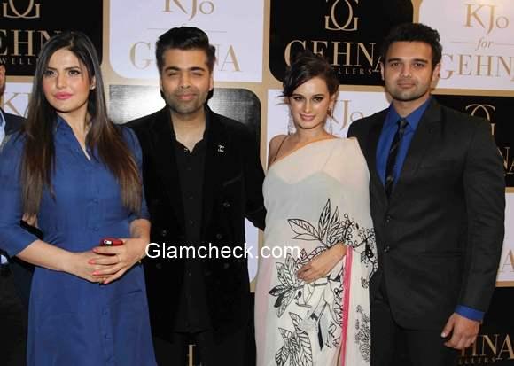 Karan Johar jewellery line K Jo for Gehna Launch
