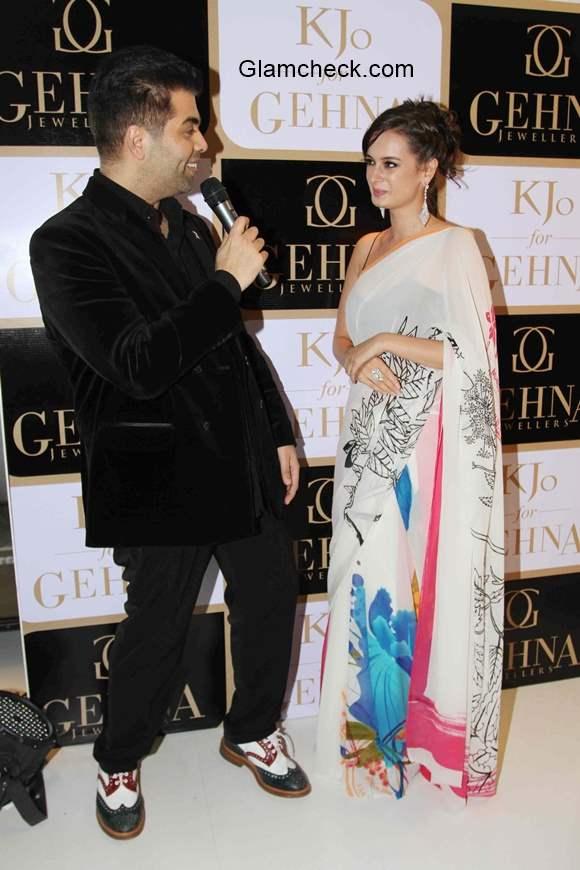 Karan Johar launches jewellery line K Jo for Gehna