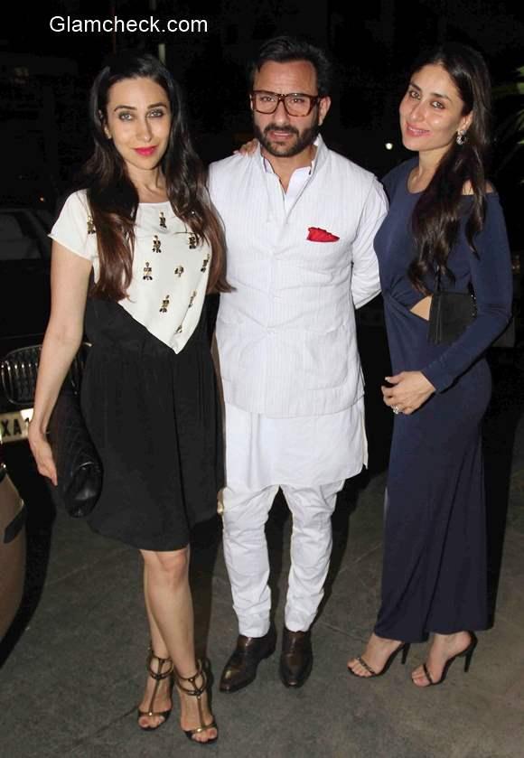 Karisma Kapoor Saif Ali Khan Kareena Kapoor