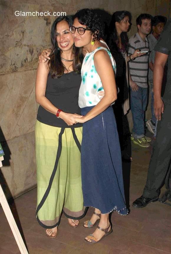 Kiran Rao and Sonali Bose