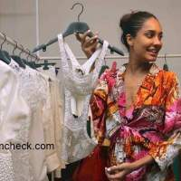 Lisa Haydon at the Fashion preview of Vizyon at Le Mill store