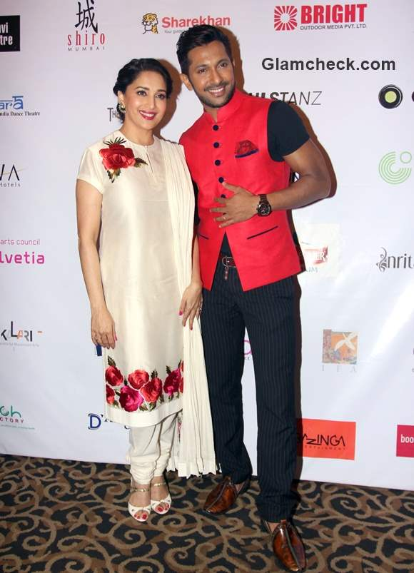 Madhuri Dixit Nene and Terence Lewis at JUNGNEE