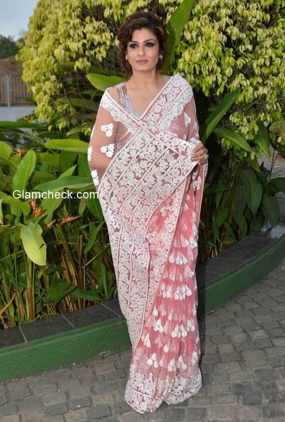Manish Malhotra Saree 2015 pink