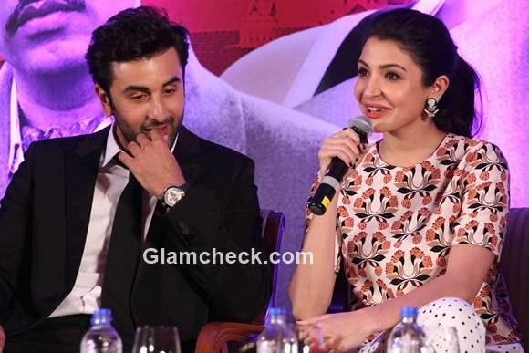 Ranbir and Anushka at the trailer launch of Bombay Velvet