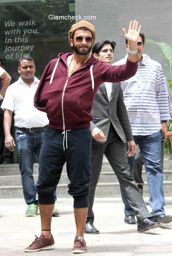 Ranveer Singh discharged from hospital following a shoulder injury
