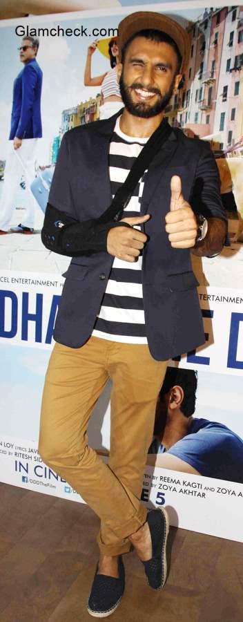 Ranveer Singh in Dil Dhadakne Do
