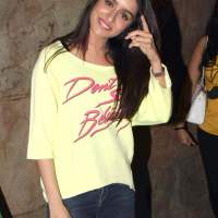 Shraddha Kapoor at the special screening of film Margarita With A Straw