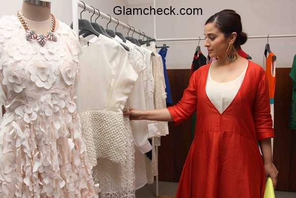 Simone Singh at the Fashion preview of Vizyon at Le Mill store