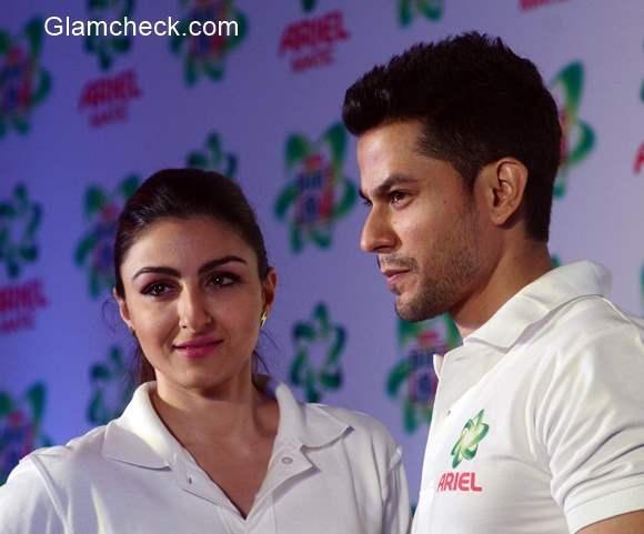 Soha Ali Khan and Kunal Khemu 2015