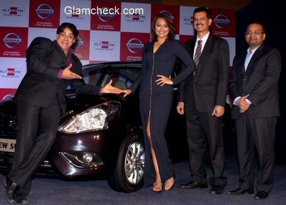 Sonakshi Sinha announces the BIIIIIG Day for the partnership between Nissan Sunny Sedan and 92.7 Big FM