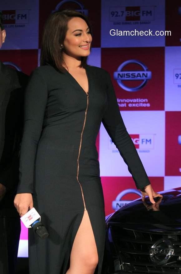 Sonakshi Sinha announces the partnership between Nissan Sunny Sedan and 92.7 Big FM