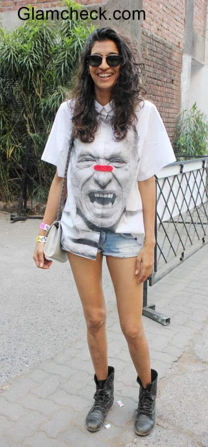 Style Inspiration - Grunge look Anushka Manchanda
