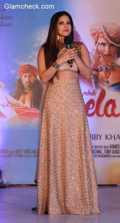 Sunny Leone Ek Paheli Leela promotions