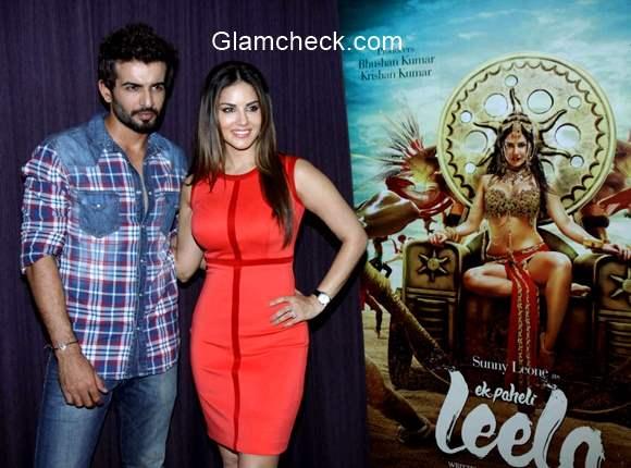 Sunny Leone Jay Bhanushali promotion film Ek Paheli Leela