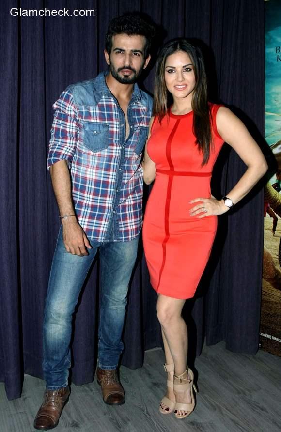 Sunny Leone and Jay Bhanushali promotion film Ek Paheli Leela