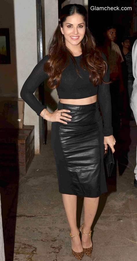 Sunny Leone at the special screening of Ek Paheli Leela