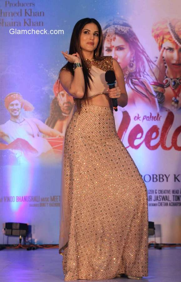 Sunny Leone in Shilpa Reddy – Ek Paheli Leela promotions