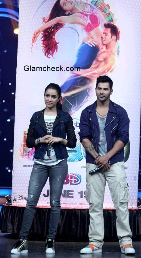 Varun Dhavan Shraddha Kapoor promote Any Body Can Dance 2 movie