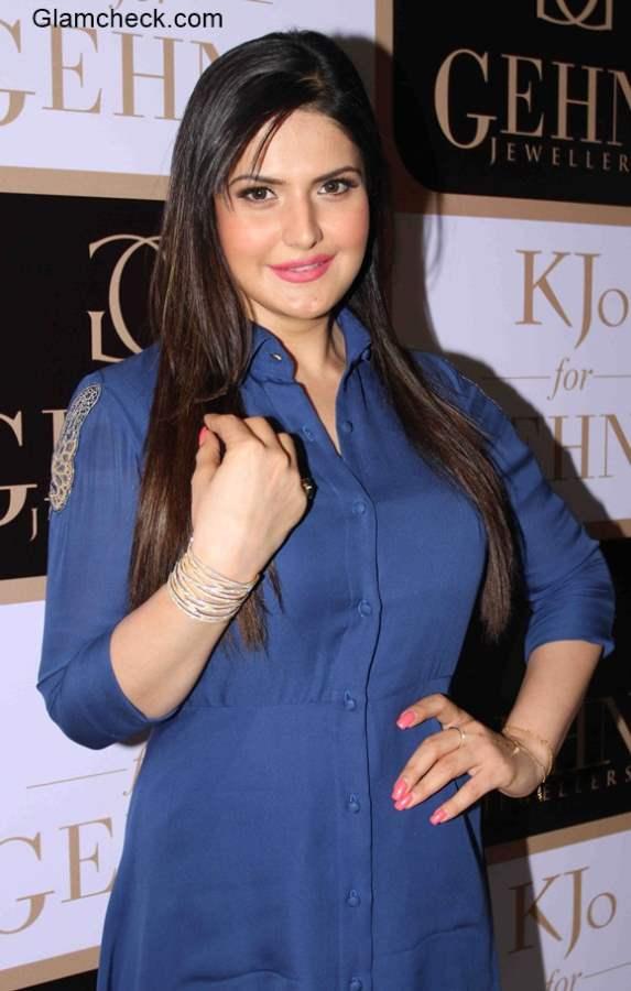 Zarine Khan at Karan Johar jewellery line K Jo for Gehna Launch