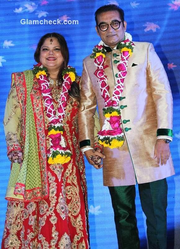 Abhijeet Bhattacharya and Sumati celebrate their silver anniversary