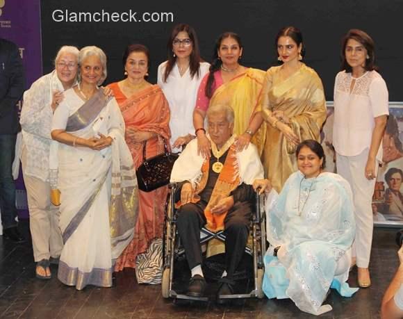 Actor Shashi Kapoor receives Dadasaheb Phalke Award 2015