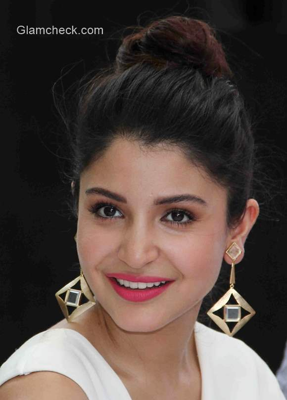 Anushka Sharma In A White Jumpsuit By Bhaavya Bhatnagar
