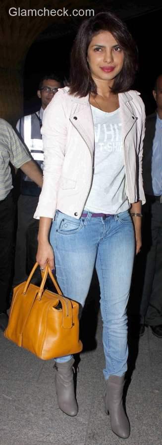 Celeb Travel style Priyanka Chopra