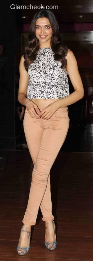 Deepika Padukone in Crop Top