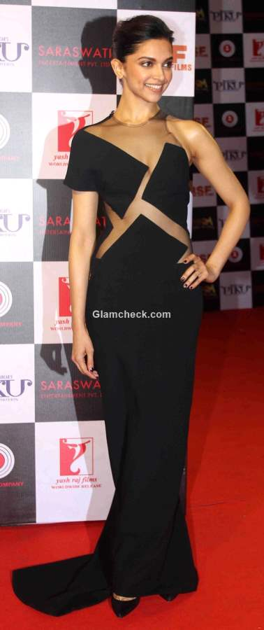 Deepika Padukone in a cut out gown