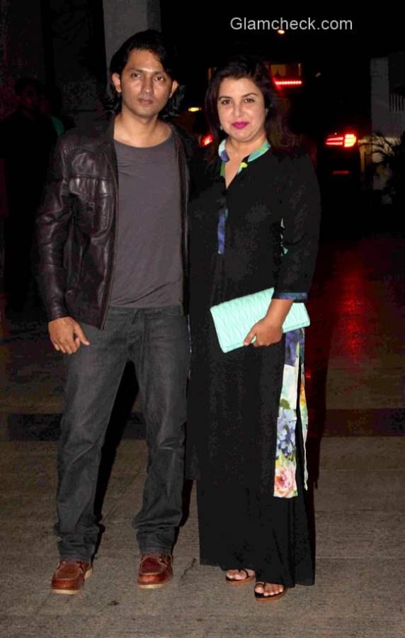Farah Khan and husband Shirish Kunder