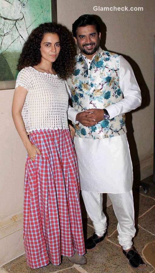 Kangana Ranaut and R Madhavan promote Tanu Weds Manu Returns