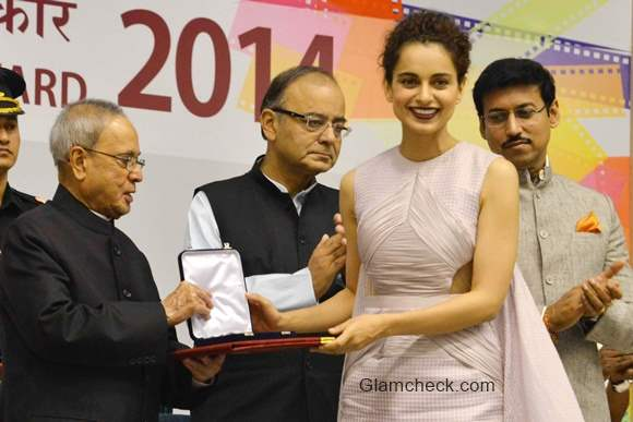 Kangana Ranaut honoured with the National Award for the film Queen