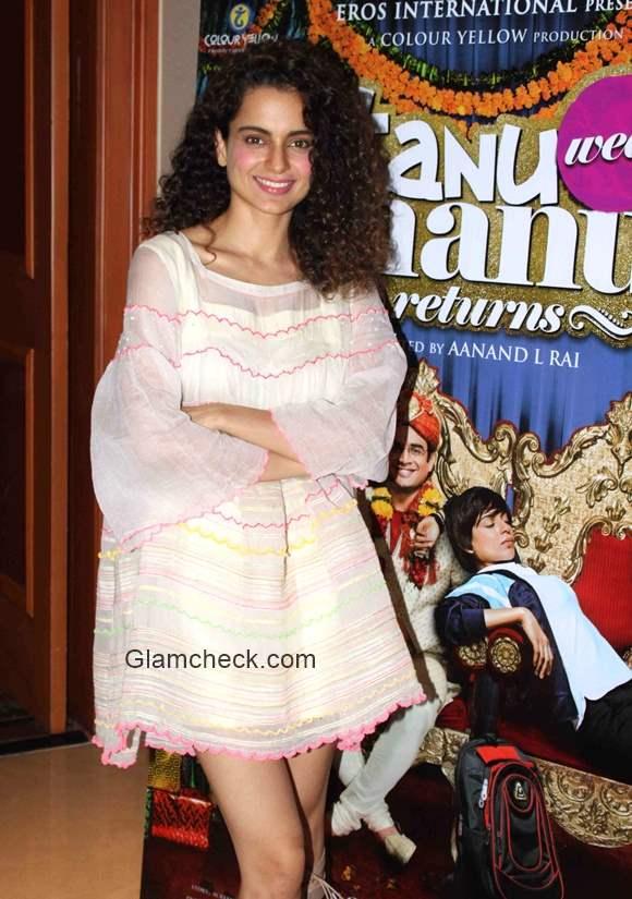 Kangana Ranaut in Summer Dress