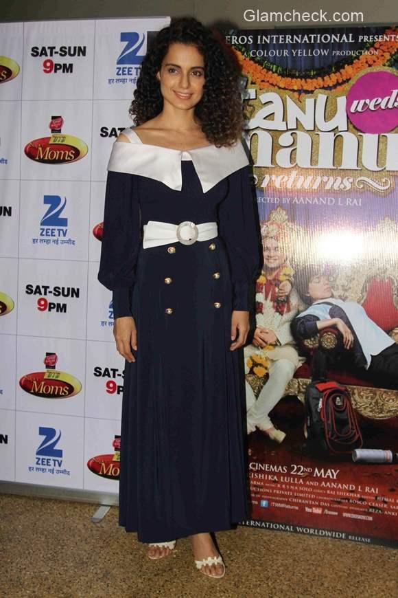 Kangana Ranaut  on the sets of Dance India Dance Super Moms