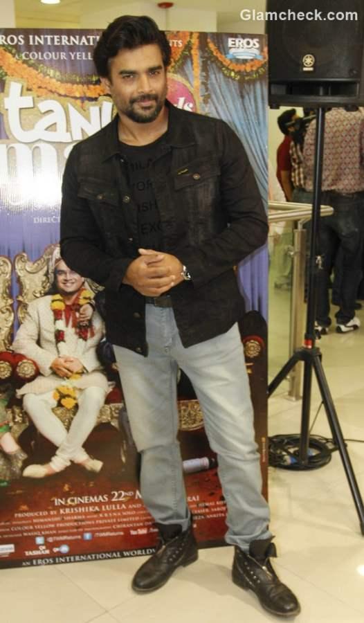 R Madhavan Promoting Tanu Weds Manu Returns