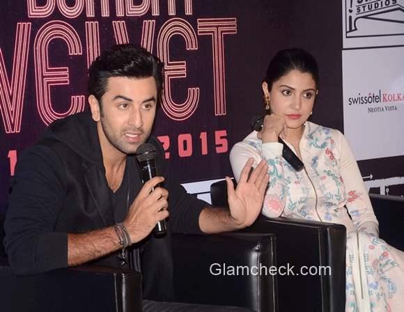 Ranbir Kapoor and Anushka Sharma Bombay Velvet promotions