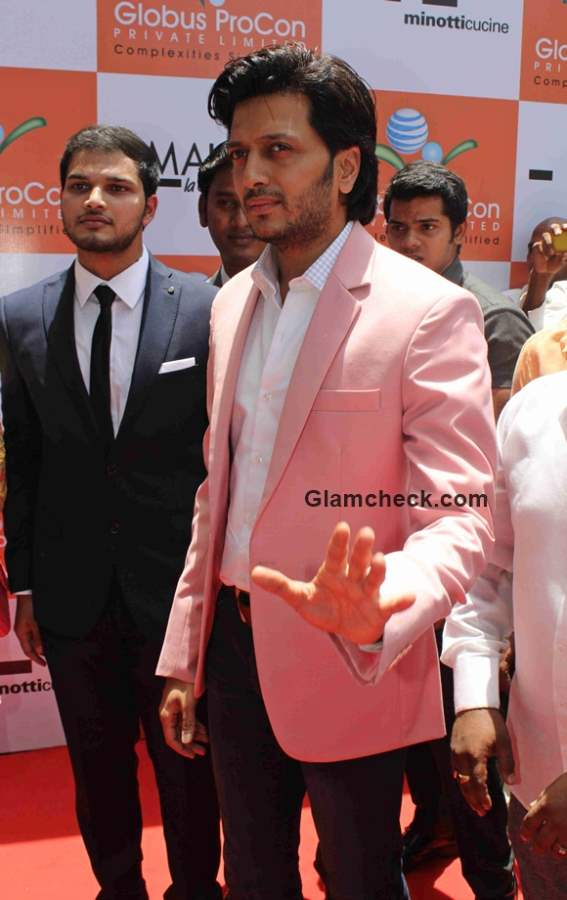 Riteish Deshmukh at showroom launch of Globus ProCon Company