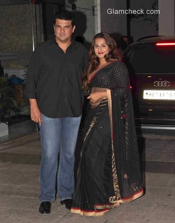 Siddharth Roy Kapur with wife Vidya Balan